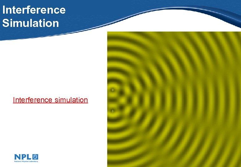 Interference Simulation Interference simulation