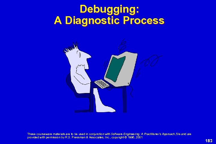 Debugging: A Diagnostic Process These courseware materials are to be used in conjunction with