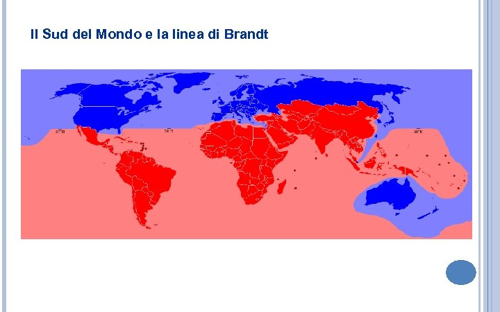 Il Sud del Mondo e la linea di Brandt
