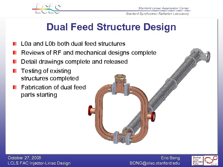 Dual Feed Structure Design L 0 a and L 0 b both dual feed