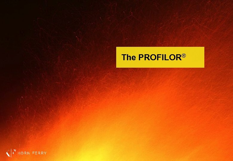 The PROFILOR®