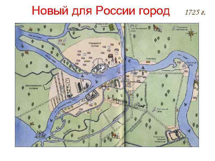 Новый для России город 1725 г.