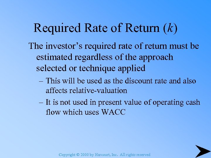 1 what is an appropriate required rate of return against which to evaluate the prospective irrs from - can the man hours and type of labor required for performance be estimated with any degree of assurance - can the required equipment and material be estimated with any degree of assurance.
