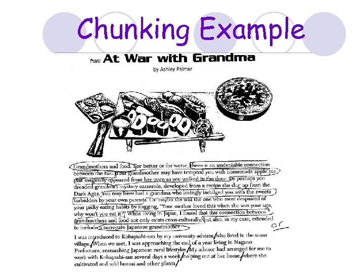 Chunking Example