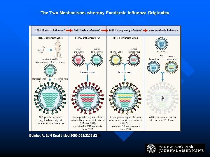 The Two Mechanisms whereby Pandemic Influenza Originates Belshe, R. B. N Engl J Med
