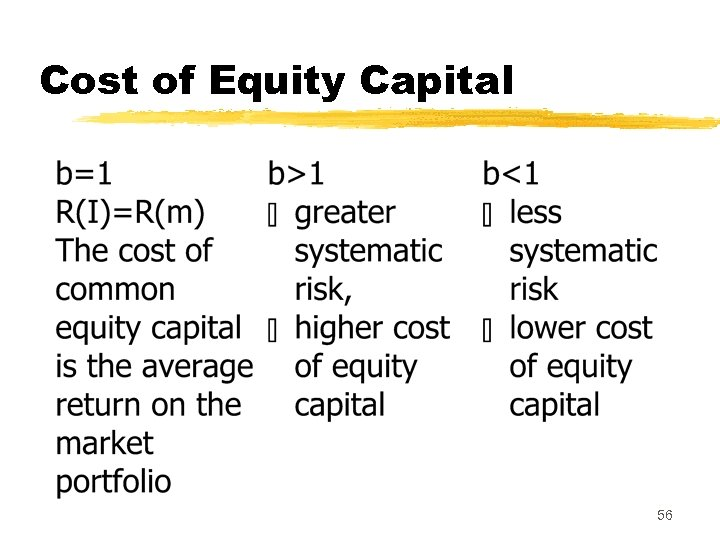 Cost of Equity Capital 56