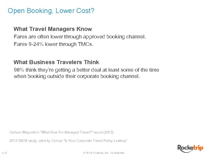 Open Booking, Lower Cost? What Travel Managers Know Fares are often lower through approved