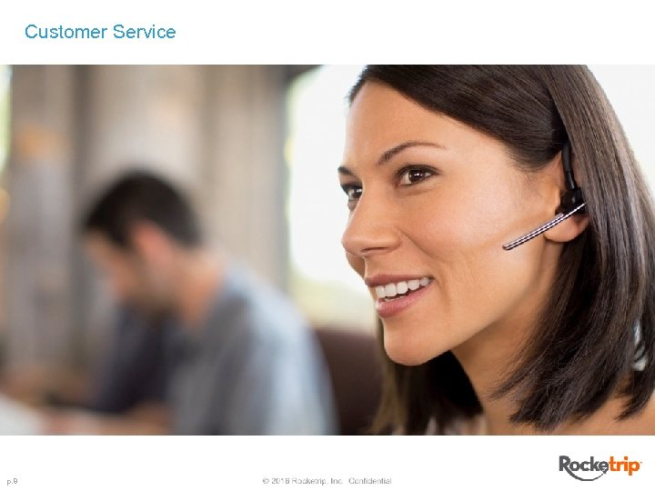 Customer Service p. 8