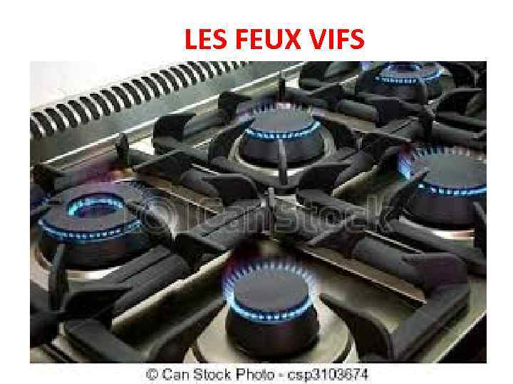 LES FEUX VIFS