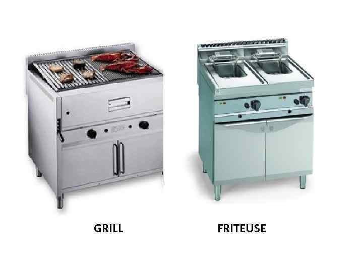 GRILL FRITEUSE