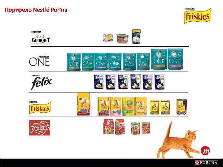Портфель Nestlé Purina