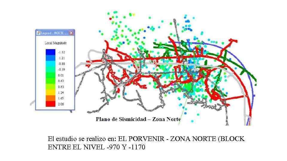 El estudio se realizo en: EL PORVENIR - ZONA NORTE (BLOCK ENTRE EL NIVEL