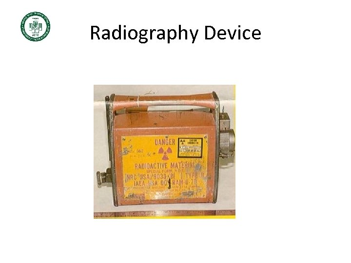 Radiography Device