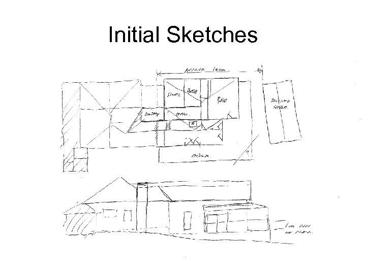 Initial Sketches Glenn P. Costin