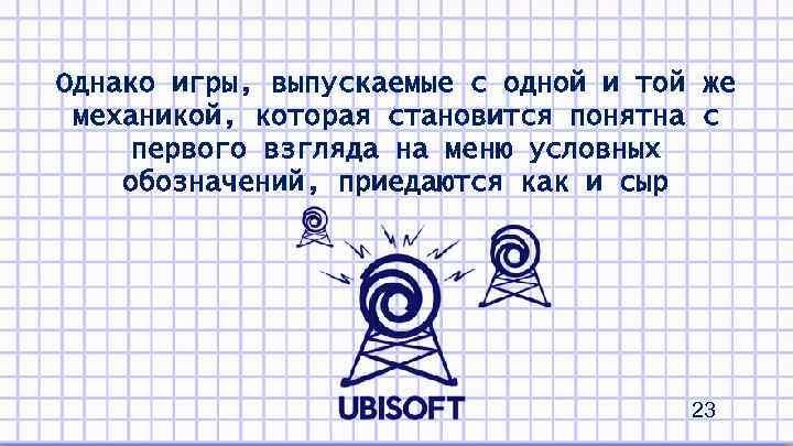 Однако игры, выпускаемые с одной и той же механикой, которая становится понятна с первого