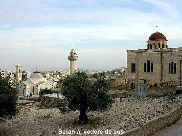 Betania, vedere de sus