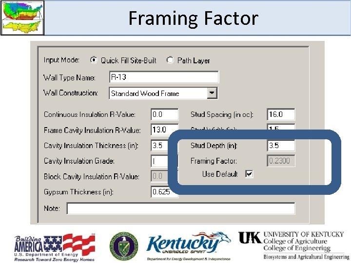 Framing Factor 63