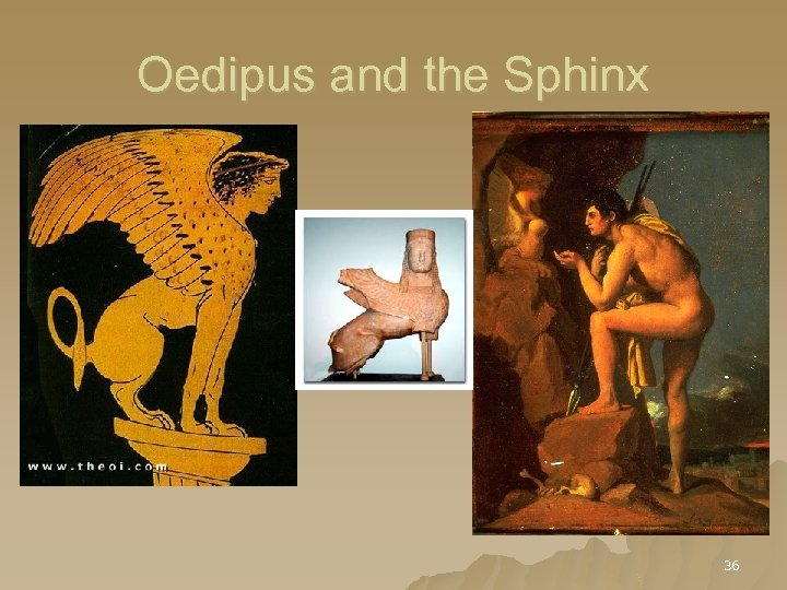 Oedipus and the Sphinx 36