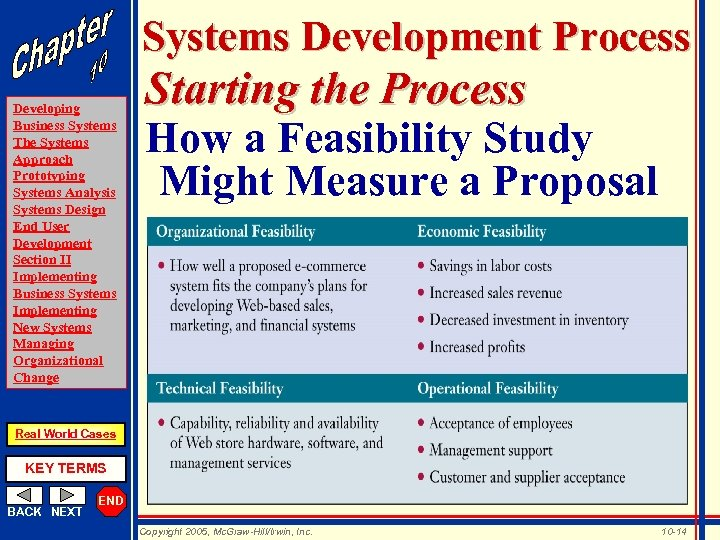 Systems Development Process Developing Business Systems The Systems Approach Prototyping Systems Analysis Systems Design