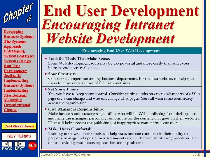 End User Development Developing Business Systems The Systems Approach Prototyping Systems Analysis Systems Design