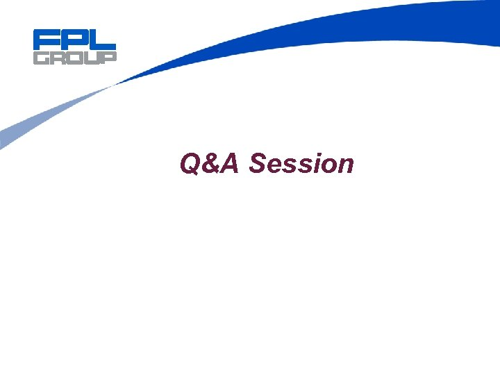 Q&A Session