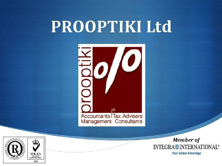 PROOPTIKI Ltd Member of S