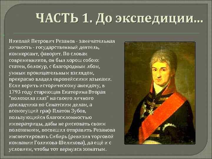 Николай резанов картинки