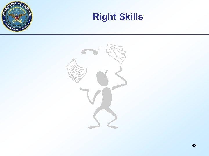Right Skills 48