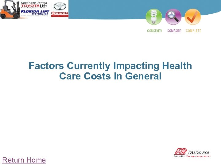 Factors Currently Impacting Health Care Costs In General Return Home