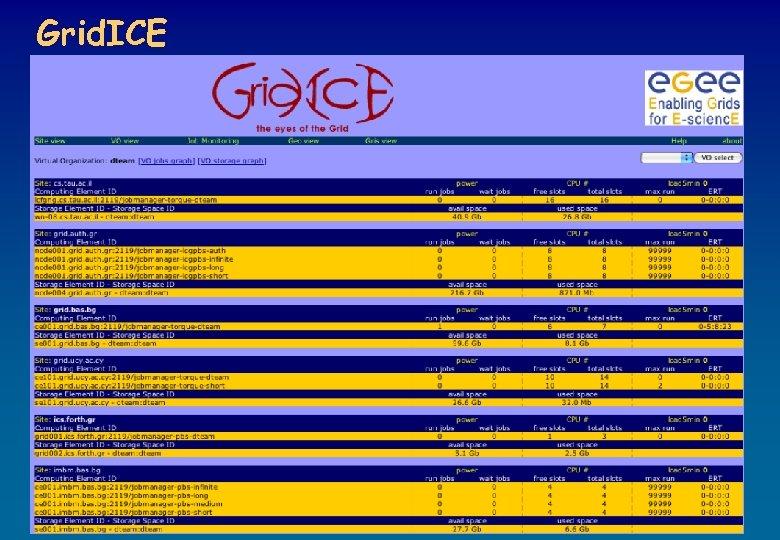 Grid. ICE