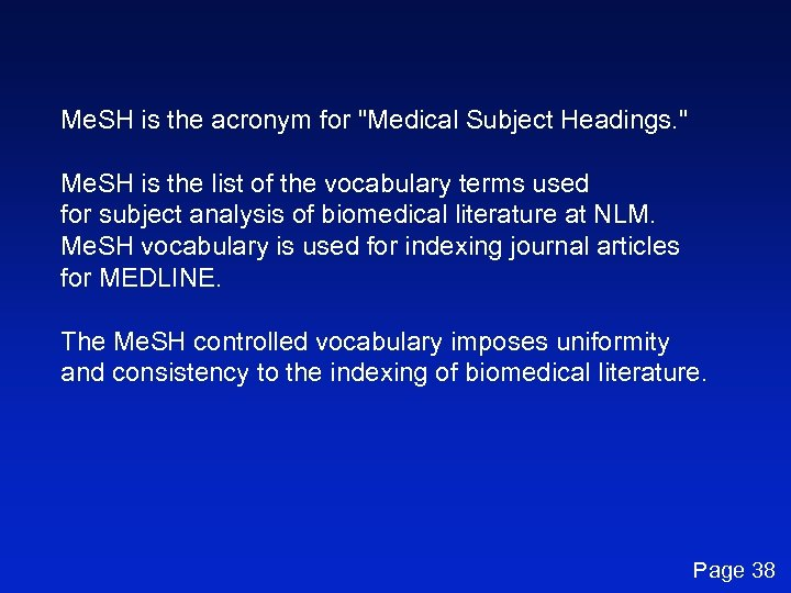 Me. SH is the acronym for