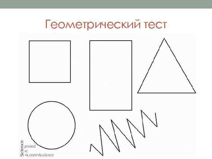 Геометрический тест