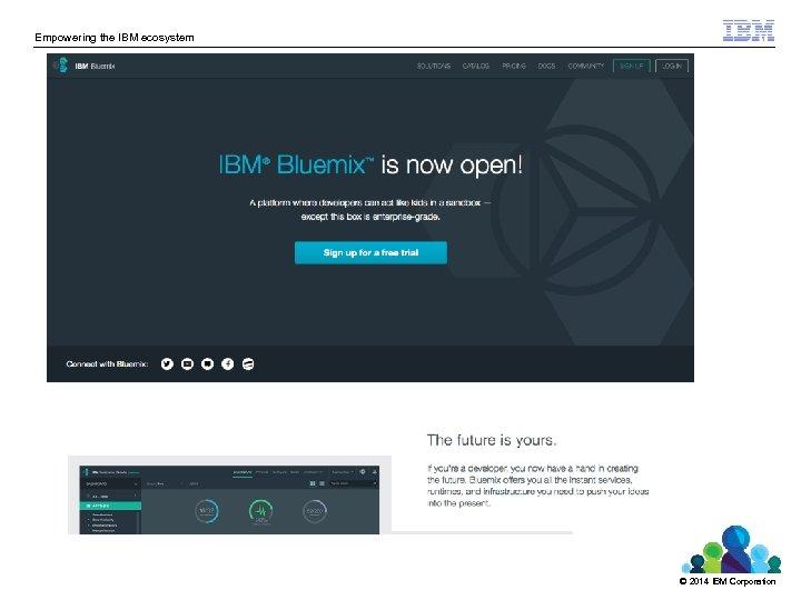 Empowering the IBM ecosystem © 2014 IBM Corporation