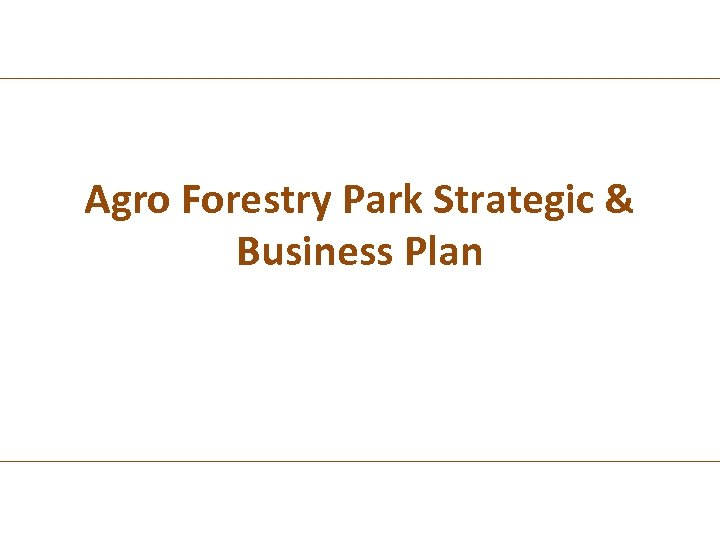 agro business plan Natural resource and agricultural engineering service, ithaca ny writing a formal business plan is a useful endeavor for 3 reasons first, it will force you to thoroughly think through the financial details of your proposed project so that nothing is missed.