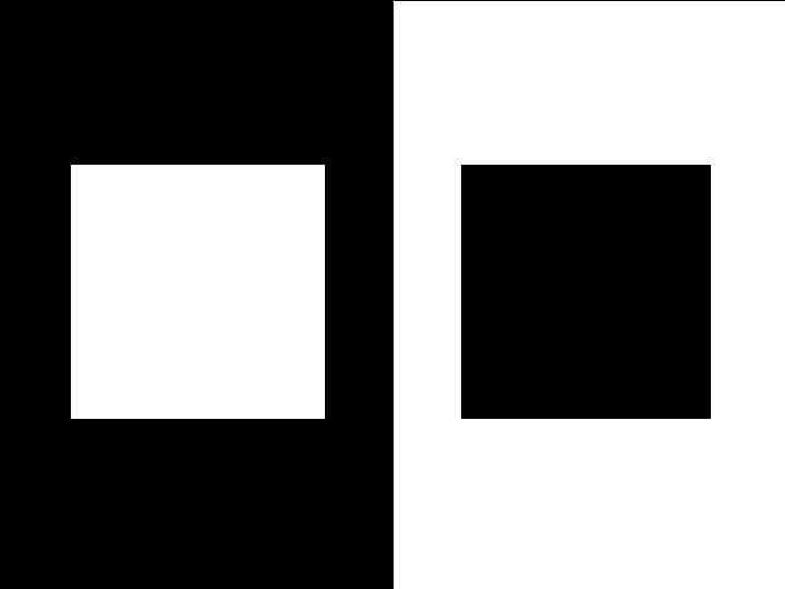 Белый и черный квадрат картинки
