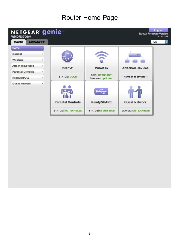 Router Home Page 9
