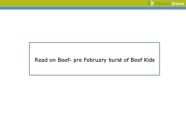 Read on Beef- pre February burst of Beef Kids