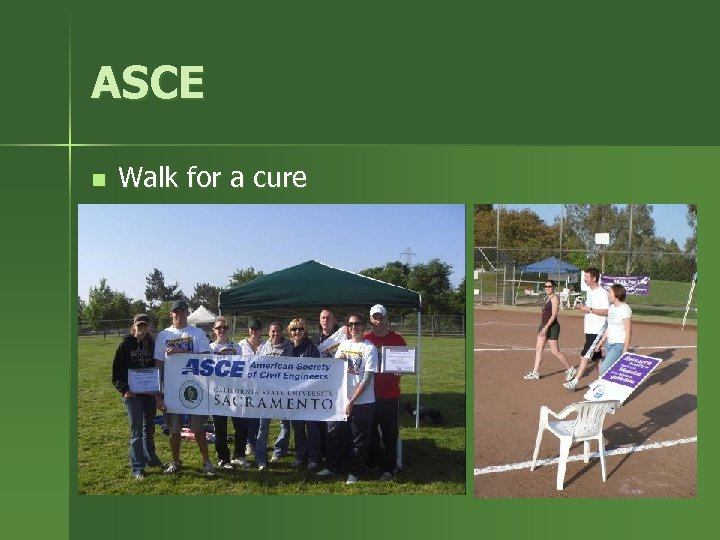 ASCE n Walk for a cure