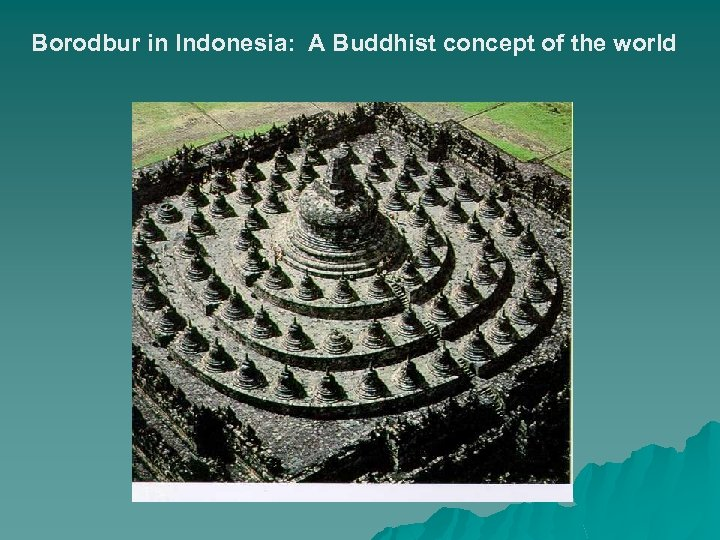 Borodbur in Indonesia: A Buddhist concept of the world
