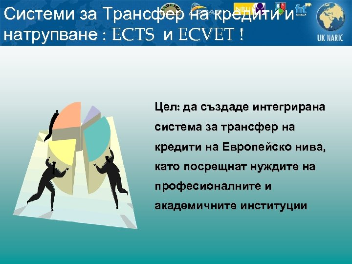 Системи за Трансфер на кредити и натрупване : ECTS и ECVET ! Цел: да