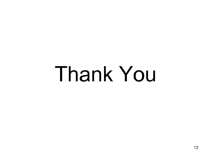 Thank You 12