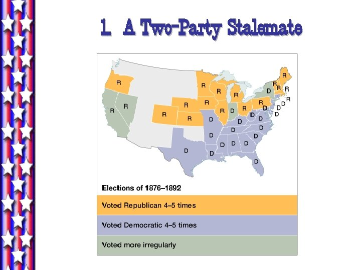 1. A Two-Party Stalemate