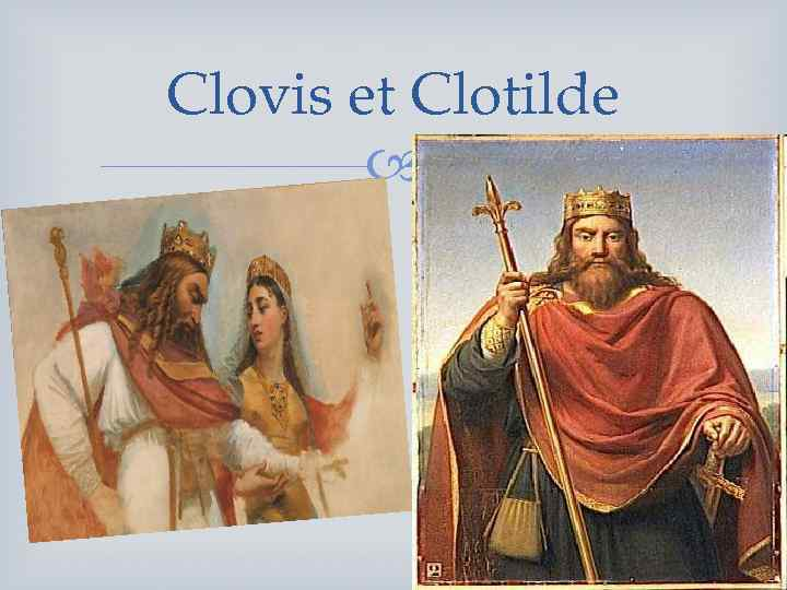 Clovis et Clotilde