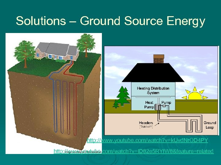 Solutions – Ground Source Energy http: //www. youtube. com/watch? v=k. Uvd. Nr. OD 4