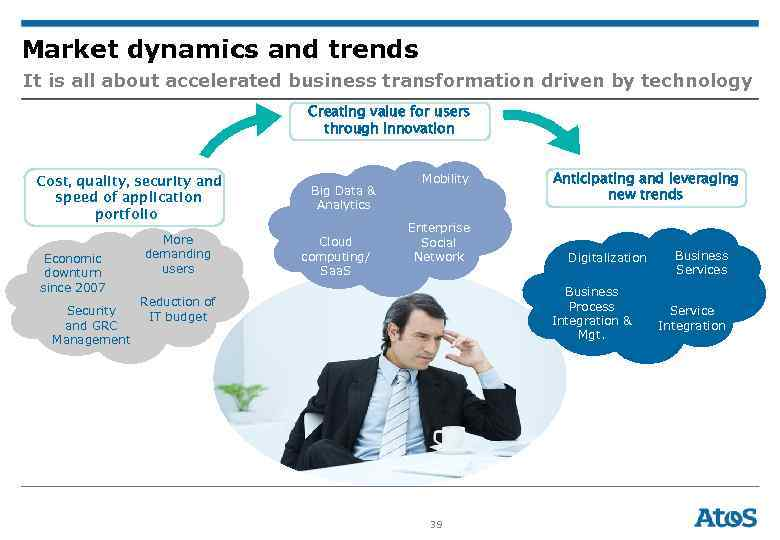 Market dynamics and trends It is all about accelerated business transformation driven by technology