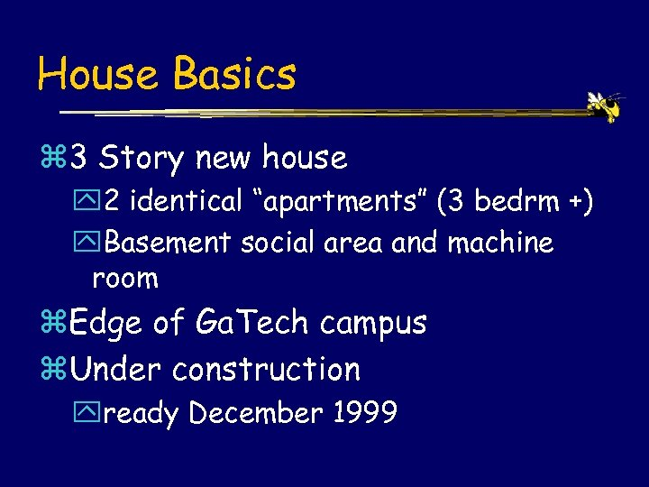 """House Basics z 3 Story new house y 2 identical """"apartments"""" (3 bedrm +)"""