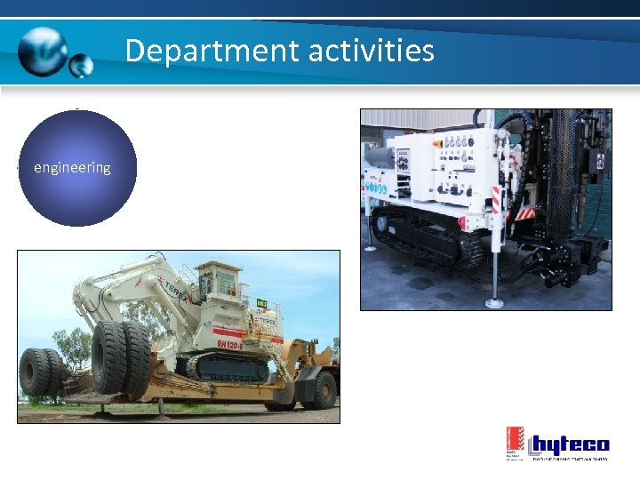 Department activities engineering