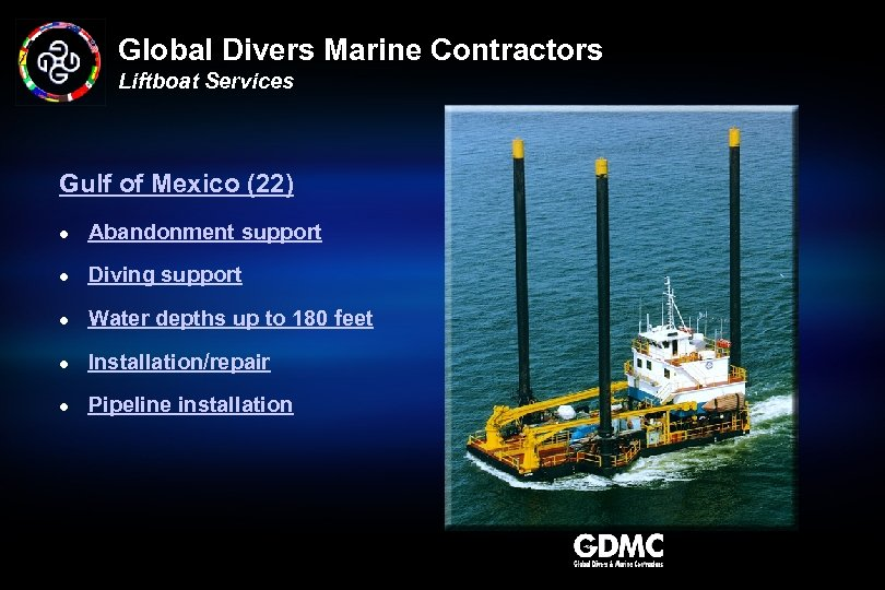 Global Divers Marine Contractors Liftboat Services Gulf of Mexico (22) l Abandonment support l