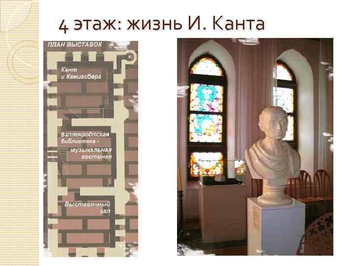 4 этаж: жизнь И. Канта
