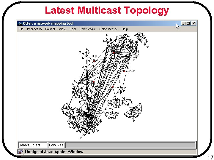 Latest Multicast Topology 17